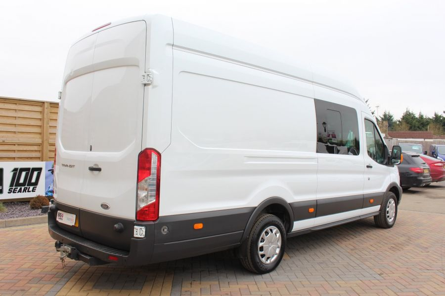 FORD TRANSIT 350 TDCI 155 L4 H3 TREND DOUBLE CAB 7 SEAT CREW VAN JUMBO HIGH ROOF  - 7472 - 5
