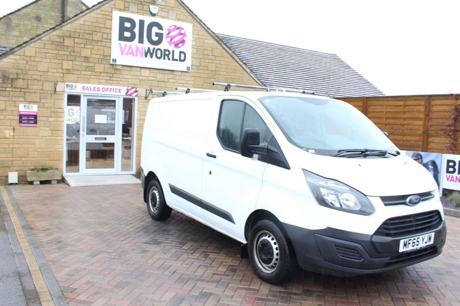 FORD TRANSIT CUSTOM 270 TDCI 125 L1 H1 SWB LOW ROOF FWD - 8450 - 3