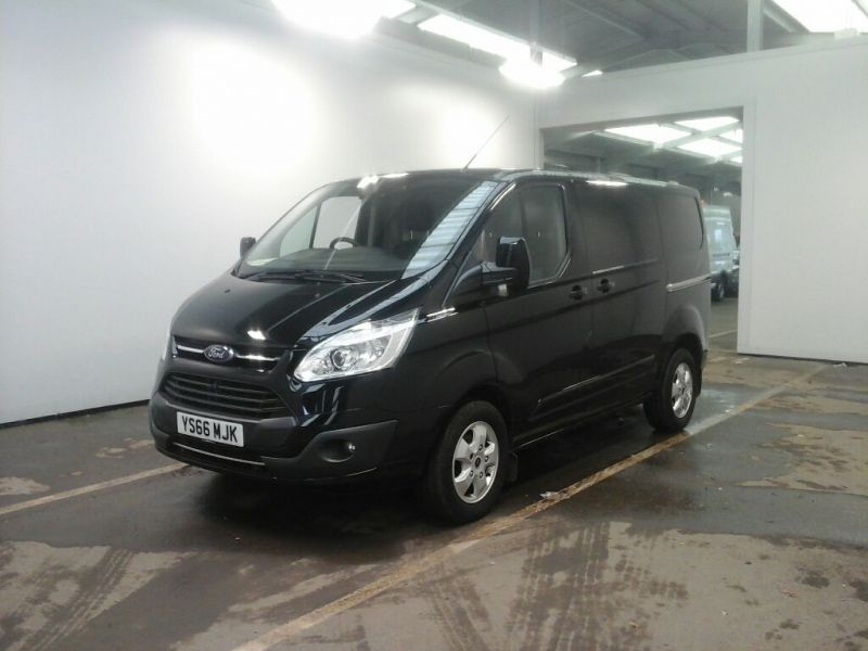 FORD TRANSIT CUSTOM 270 TDCI 130 L1H1 LIMITED SWB LOW ROOF FWD - 10432 - 1