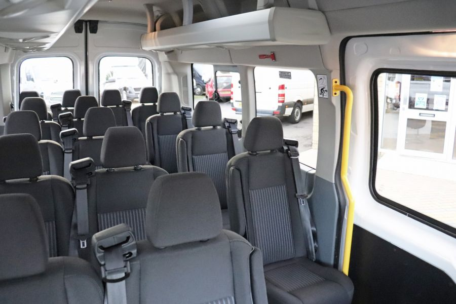 FORD TRANSIT 460 TDCI 155 L4H3 TREND 17 SEAT BUS HIGH ROOF DRW RWD - 11807 - 43