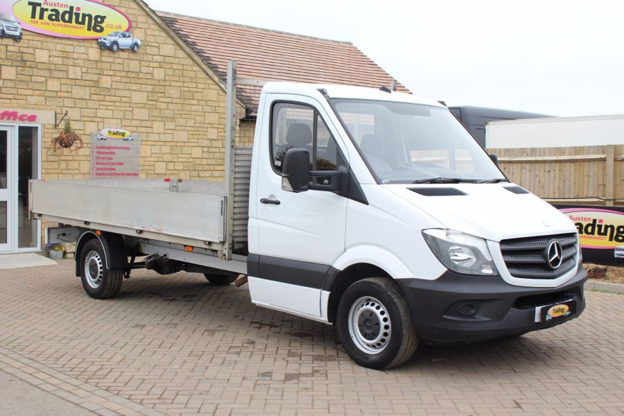 MERCEDES SPRINTER 313 CDI LWB 13FT 6IN ALLOY DROPSIDE - 5295 - 1