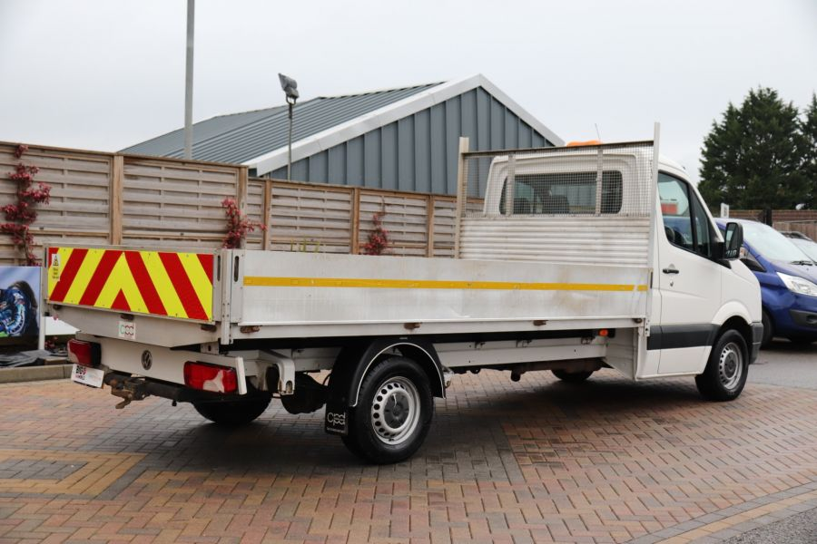 VOLKSWAGEN CRAFTER CR35 TDI 140 BMT LWB SINGLE CAB ALLOY DROPSIDE - 12073 - 7