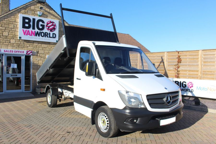 MERCEDES SPRINTER 313 CDI MWB SINGLE CAB NEW BUILD ALLOY TIPPER - 8728 - 1