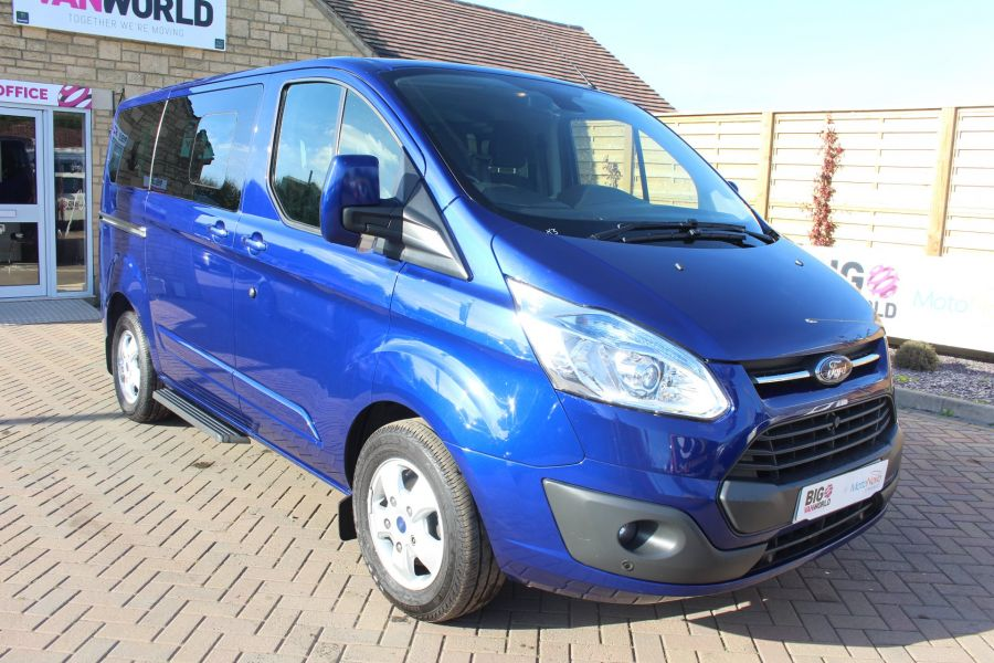 FORD TOURNEO CUSTOM 300 TDCI 125 L1 H1 LIMITED 9 SEAT MINIBUS SWB LOW ROOF FWD - 6857 - 3