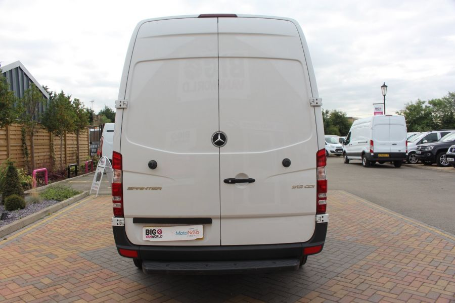 MERCEDES SPRINTER 313 CDI MWB HIGH ROOF 6 SEAT CREW VAN - 6303 - 6