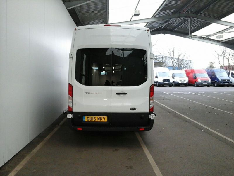 FORD TRANSIT 460 TDCI 125 L4 H3 TREND 17 SEAT BUS HIGH ROOF DRW RWD - 8845 - 3