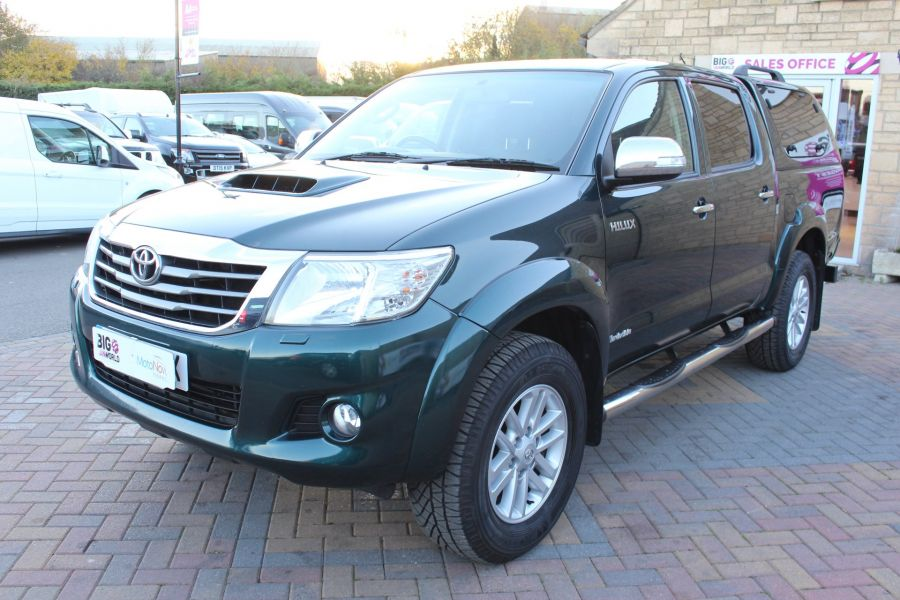 TOYOTA HI-LUX INVINCIBLE 4X4 D-4D 171 DOUBLE CAB WITH TRUCKMAN TOP - 8463 - 8