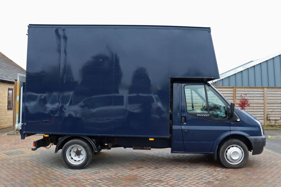 FORD TRANSIT 350 TDCI 100 MWB EXTRA HIGH LUTON BODY WITH TAIL LIFT DRW RWD - 10491 - 5