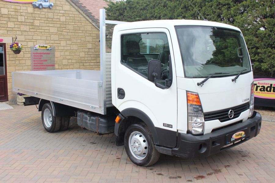 NISSAN CABSTAR 35.14 SINGLE CAB 13FT ALLOY DROPSIDE - 5991 - 1