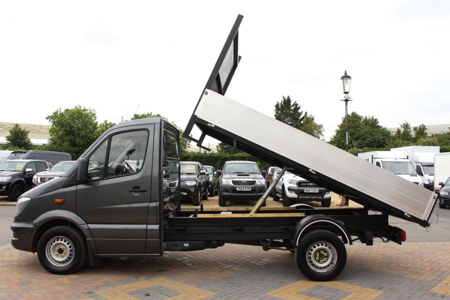 MERCEDES SPRINTER 313 CDI 129 MWB SINGLE CAB NEW BUILD ALLOY TIPPER - 9592 - 8