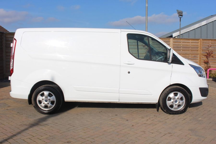 FORD TRANSIT CUSTOM 290 TDCI 170 L1 H1 LIMITED SWB LOW ROOF - 8843 - 4