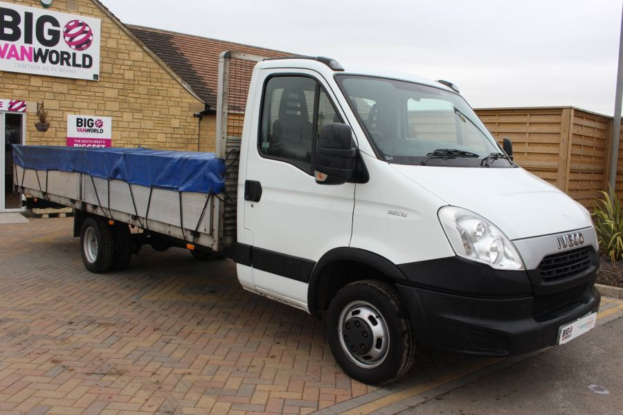 IVECO DAILY 35C13 4100 WB XLWB 20FT ALLOY DROPSIDE - 7302 - 3