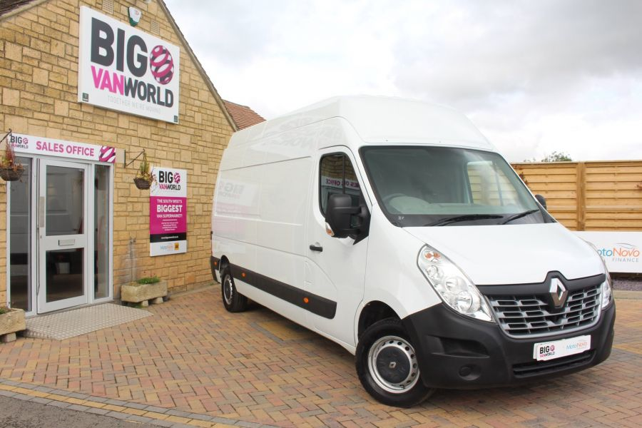 RENAULT MASTER LH35 DCI 125 BUSINESS LWB HIGH ROOF NEW SHAPE - 5678 - 1
