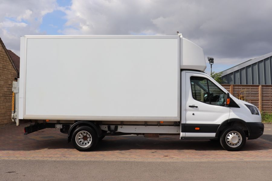 FORD TRANSIT 350 TDCI 170 L4 'ONE STOP' LUTON WITH TAIL LIFT DRW RWD  - 9531 - 4