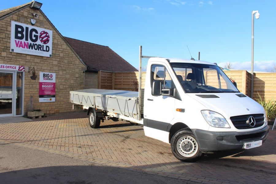 MERCEDES SPRINTER 313 CDI EF XLWB 20FT ALLOY DROPSIDE - 7008 - 1