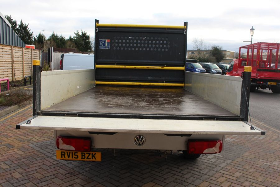 VOLKSWAGEN CRAFTER CR35 TDI 109 LWB 7 SEAT DOUBLE CAB ALLOY DROPSIDE - 9019 - 20