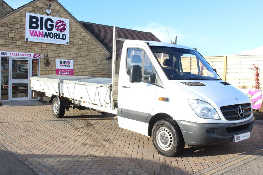 MERCEDES SPRINTER 313 CDI EF XLWB 20FT ALLOY DROPSIDE - 7008 - 2
