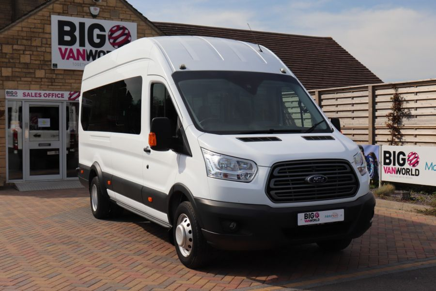 FORD TRANSIT 460 TDCI 125 L4H3 TREND 17 SEAT BUS HIGH ROOF DRW RWD - 10326 - 4