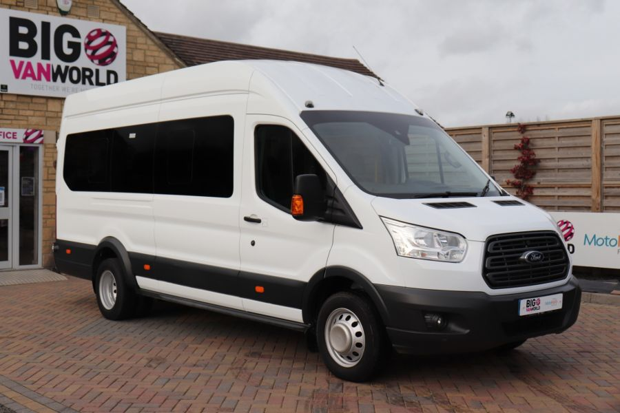 FORD TRANSIT 460 TDCI 125 L4H3 TREND 17 SEAT BUS HIGH ROOF DRW RWD - 11514 - 1