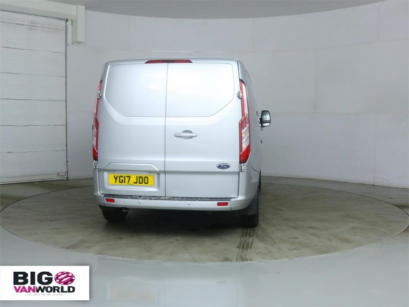 FORD TRANSIT CUSTOM 290 TDCI 170 L1 H1 LIMITED SWB LOW ROOF - 8891 - 3