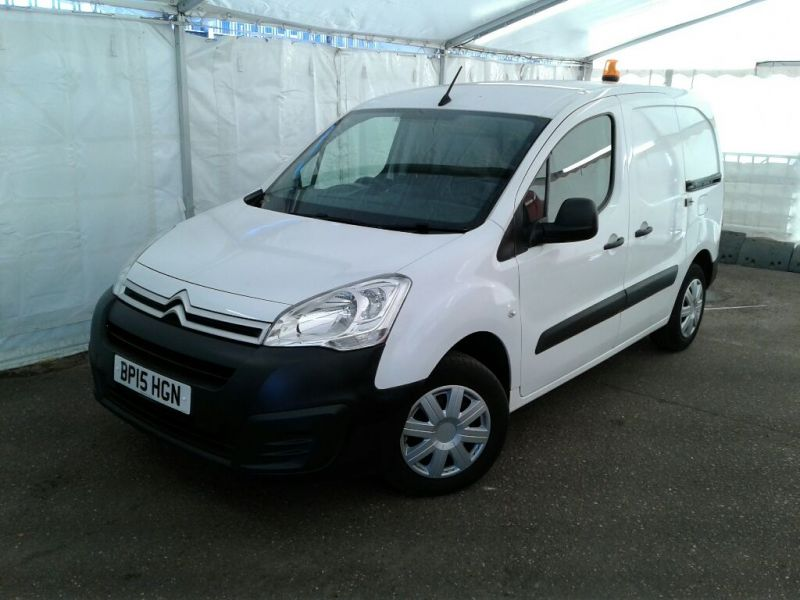CITROEN BERLINGO 625 HDI 75 L1 H1 ENTERPRISE SWB LOW ROOF - 9245 - 1