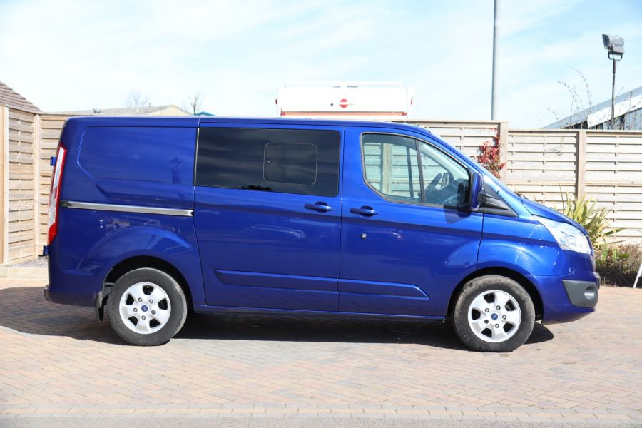 FORD TRANSIT CUSTOM 310 TDCI 130 L1H1 LIMITED DOUBLE CAB 6 SEAT CREW VAN FWD - 10553 - 4