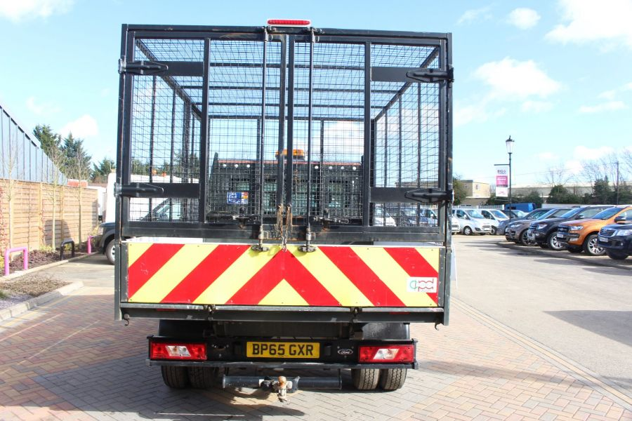 FORD TRANSIT 350 TDCI 125 SINGLE CAB 'ONE STOP' CAGED TIPPER DRW RWD - 7297 - 5