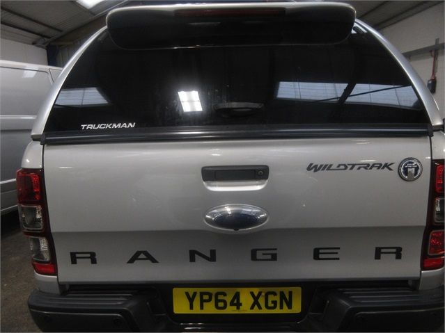 FORD RANGER WILDTRAK 4X4 TDCI 197 DOUBLE CAB WITH TRUCKMAN TOP - 7516 - 17