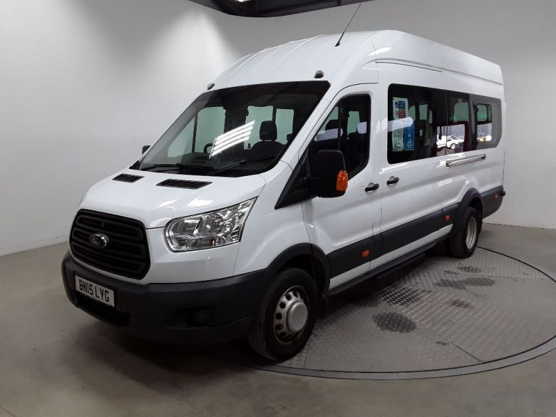FORD TRANSIT 460 TDCI 125 L4H3 17 SEAT BUS HIGH ROOF DRW RWD - 11894 - 1