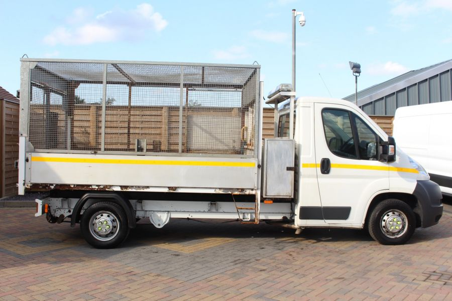 CITROEN RELAY 35 HDI 130 L3 LWB ALLOY TIPPER WITH CAGED - 8122 - 13