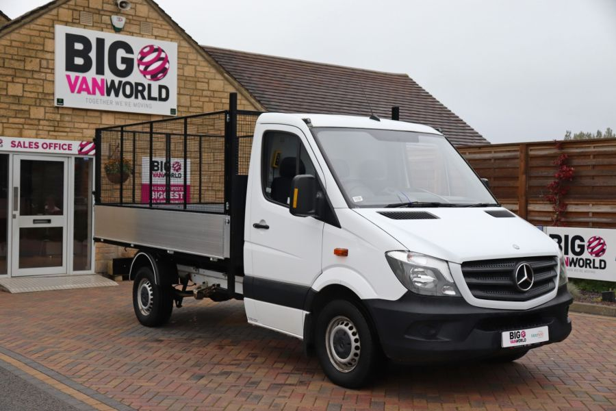 MERCEDES SPRINTER 313 CDI 129 MWB SINGLE CAB NEW BUILD ALLOY CAGED TIPPER - 9685 - 3