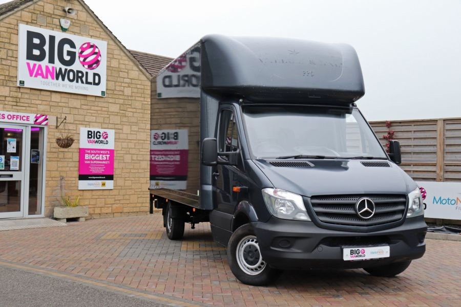MERCEDES SPRINTER 314 CDI 140 LWB LUTON WITH TAIL LIFT - 11407 - 3