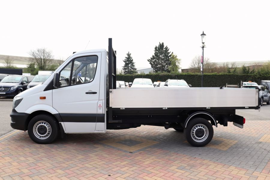 MERCEDES SPRINTER 313 CDI 129 MWB SINGLE CAB NEW BUILD ALLOY TIPPER - 10972 - 10