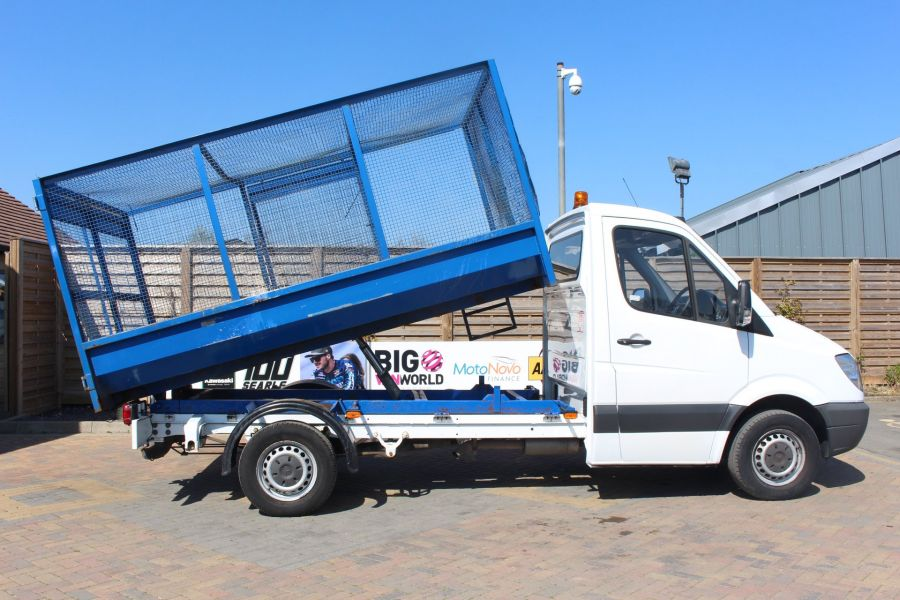 MERCEDES SPRINTER 313 CDI 129 MWB SINGLE CAB CAGED TIPPER - 9129 - 5