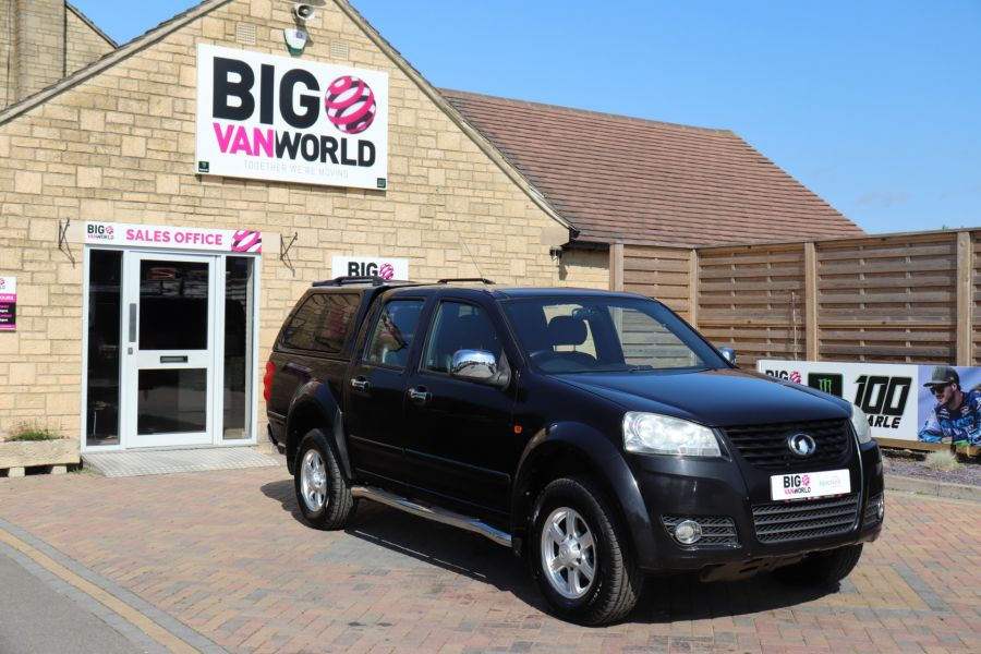 GREAT WALL STEED TD 141 SE 4X4 DOUBLE CAB WITH TRUCKMAN TOP - 9849 - 2
