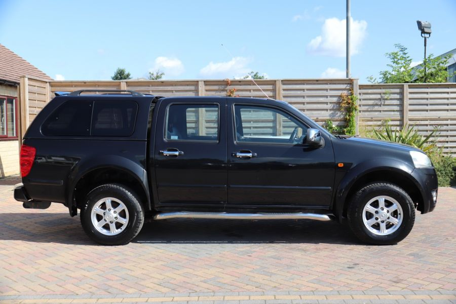 GREAT WALL STEED TD 141 SE 4X4 DOUBLE CAB WITH TRUCKMAN TOP - 9849 - 4
