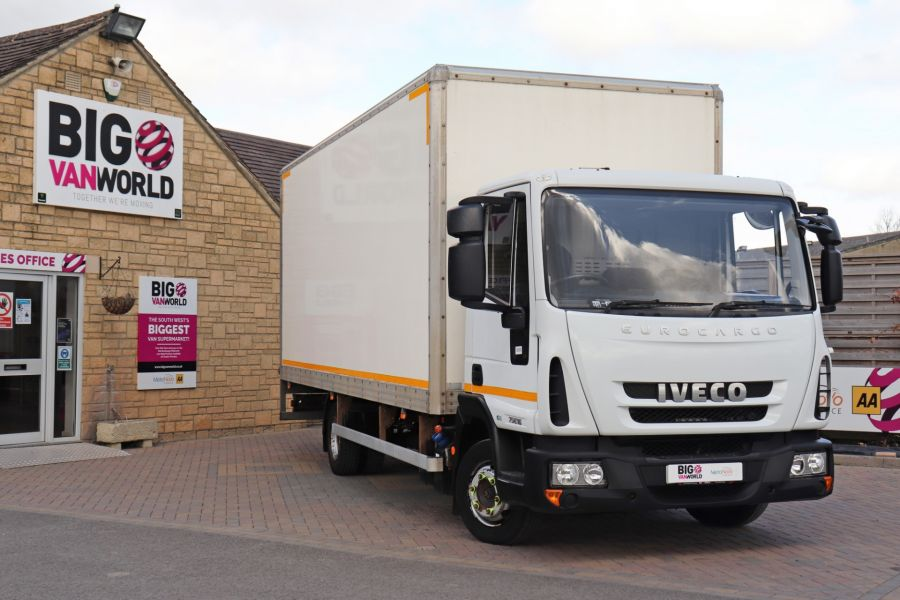 IVECO EUROCARGO  75E16S 4X2 GRP BOX WITH TAIL LIFT  (13925) - 12206 - 5