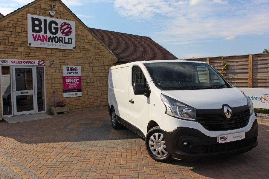 RENAULT TRAFIC SL27 DCI 120 BUSINESS ENERGY SWB LOW ROOF - 8861 - 1