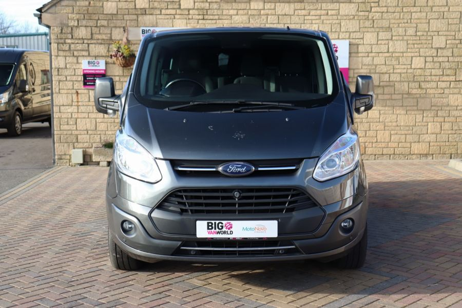 FORD TRANSIT CUSTOM 290 TDCI 130 L1H1 LIMITED DOUBLE CAB 6 SEAT CREW VAN SWB LOW ROOF - 10123 - 10
