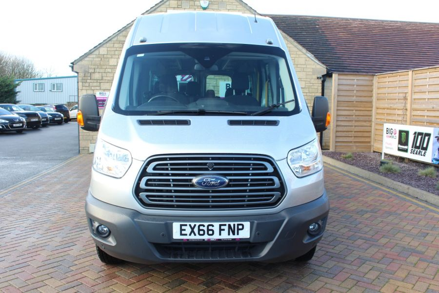 FORD TRANSIT 460 TDCI 155 TREND L4 H3 HIGH ROOF 17 SEAT BUS - 8517 - 9