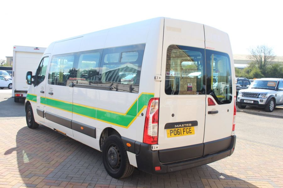RENAULT TRUCKS MASTER LM35 DCI 100 L3 H2 8 SEAT PASSENGER TRANSPORT BUS AMBULANCE WITH WHEELCHAIR ACCESS LWB MEDIUM ROOF - 9138 - 7