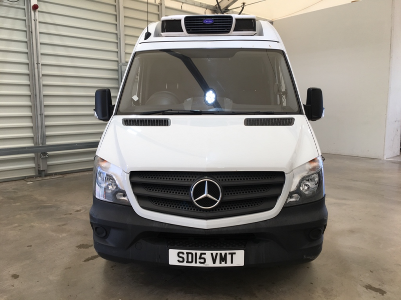 MERCEDES SPRINTER 313 CDI 129 MWB HIGH ROOF FRIDGE/FREEZER VAN WITH OVERNIGHT - 11409 - 7