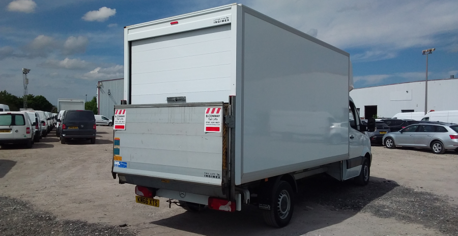 MERCEDES SPRINTER 314 CDI 140 LWB 'ONE STOP' LUTON WITH TAIL LIFT - 10777 - 4