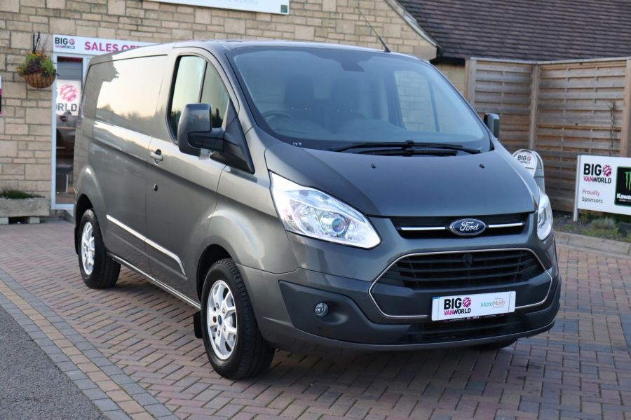 FORD TRANSIT CUSTOM 310 TDCI 155 L1H1 LIMITED SWB LOW ROOF FWD - 9827 - 3