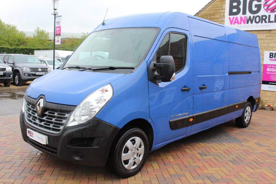 RENAULT MASTER LM35 DCI 135 BUSINESS PLUS ENERGY LWB MEDIUM ROOF FWD - 7655 - 8