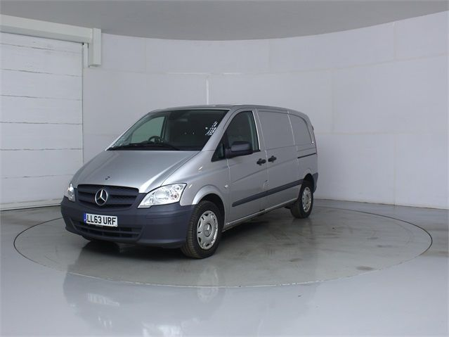 MERCEDES VITO 122 CDI 224 COMPACT SWB LOW ROOF - 7046 - 5