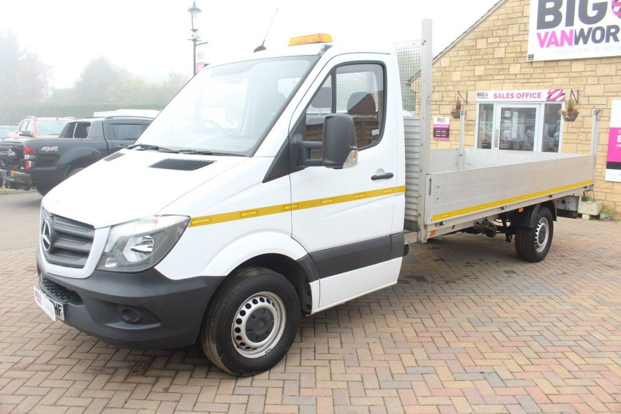 MERCEDES SPRINTER 313 CDI LWB SINGLE CAB ALLOY DROPSIDE - 6885 - 8