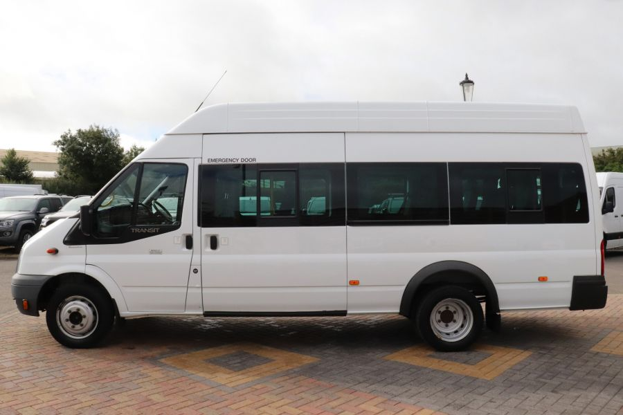 FORD TRANSIT 430 TDCI 135 EL LWB 17 SEAT BUS WITH WHEELCHAIR ACCESS HIGH ROOF DRW RWD - 9665 - 8