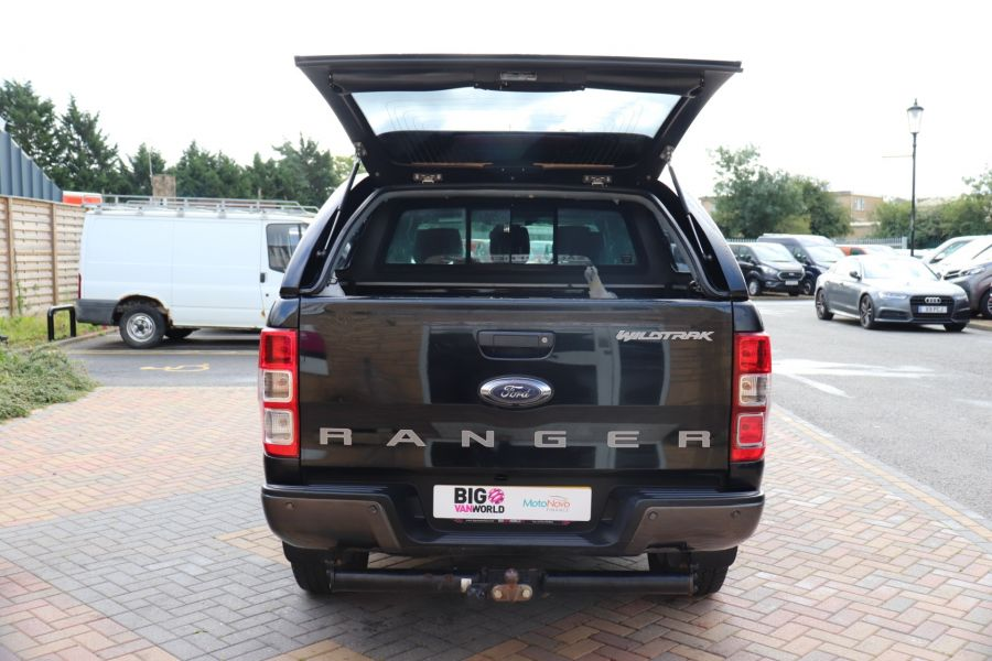 FORD RANGER WILDTRAK TDCI 200 4X4 DOUBLE CAB WITH TRUCKMAN TOP - 9555 - 40