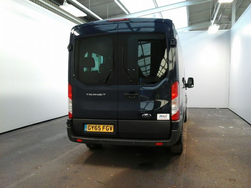 FORD TRANSIT 410 TDCI 125 L3 H2 TREND 15 SEAT BUS LWB MEDIUM ROOF RWD - 8605 - 3